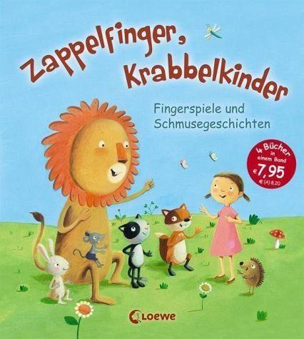 Gebundenes Buch »Zappelfinger, Krabbelkinder«