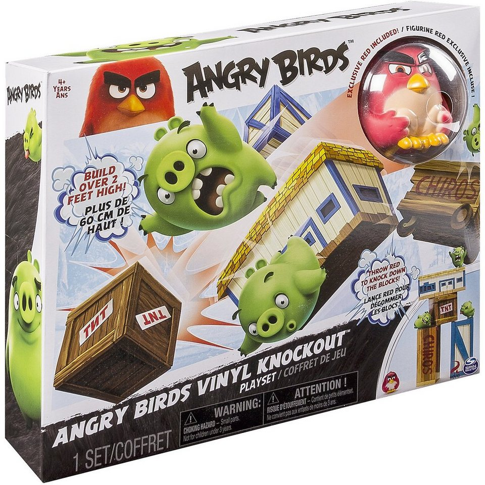Spin Master Angry Birds Pig Blast Angry Ball Spielset