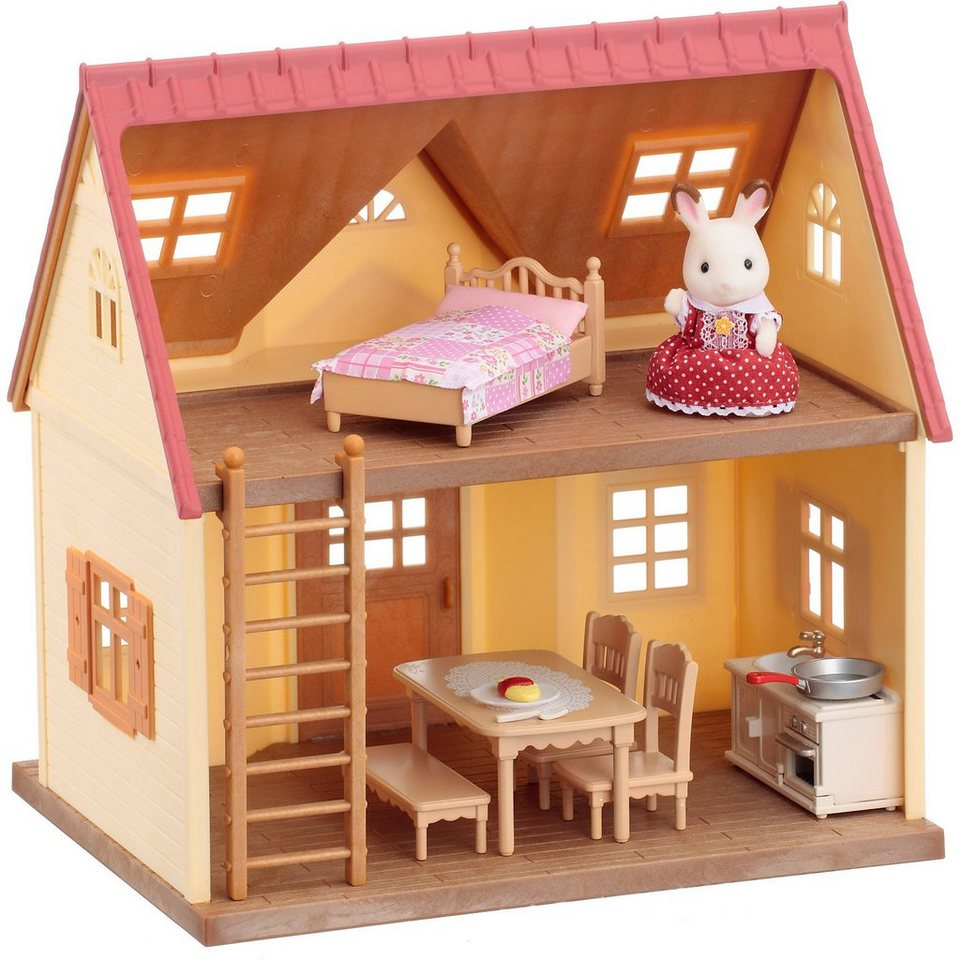 Epoch Traumwiesen Sylvanian Families Starter-Haus (Blisterpackung)