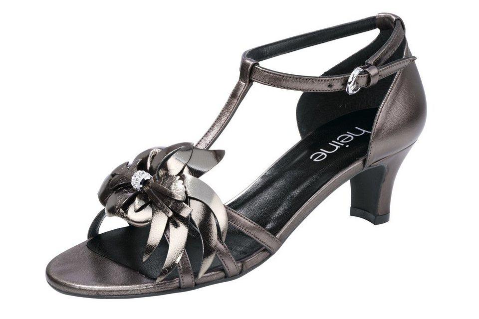 Sandalette in bronzefarben