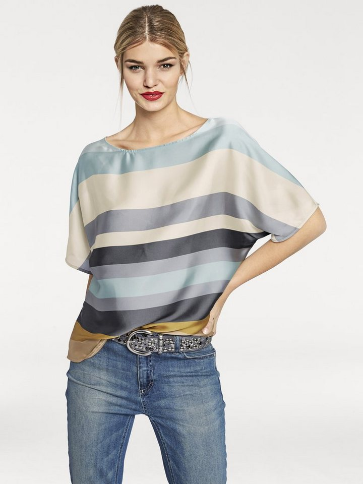 RICK CARDONA by Heine Oversized-Bluse in bunt