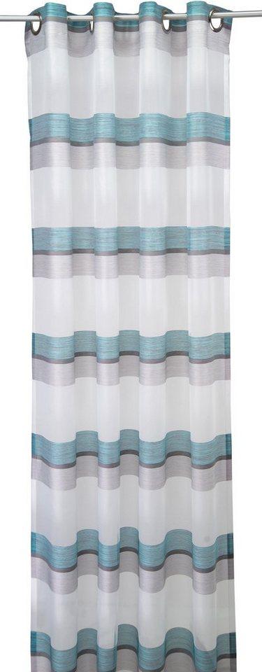 Vorhang, Tom Tailor, »Spirited Lines« (1 Stück) in türkis