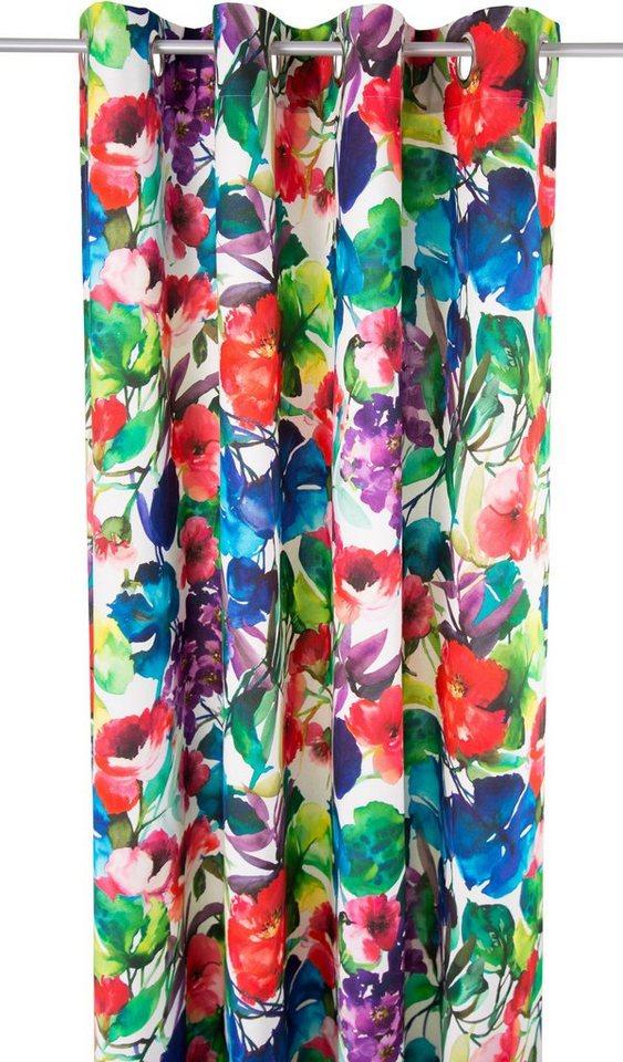 Vorhang, Tom Tailor, »Garden Flowers« (1 Stück) in bunt
