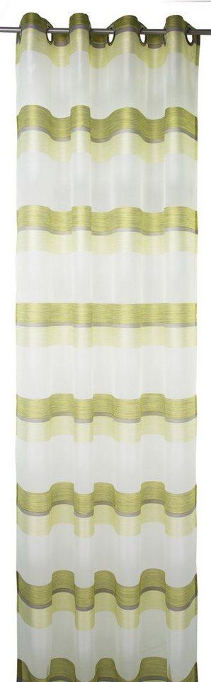 Vorhang, Tom Tailor, »Spirited Lines« (1 Stück) in grün