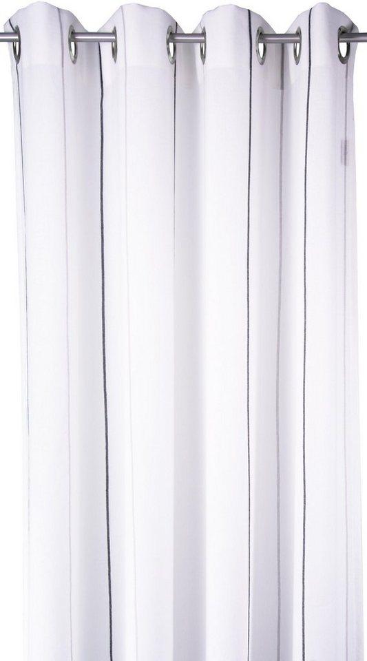 Vorhang, Tom Tailor, »Homelike« (1 Stück) in grau