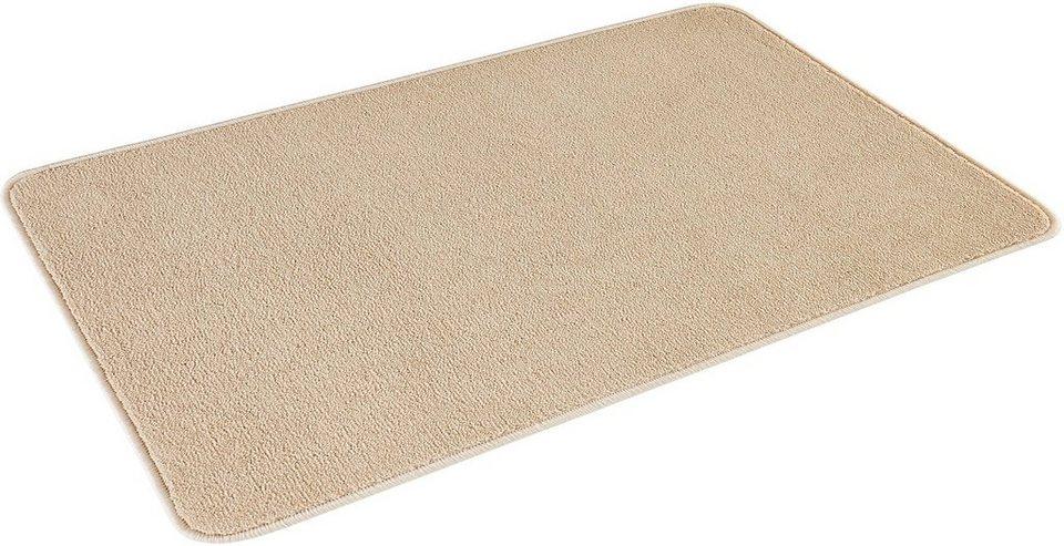 Badematte, Hanse Home, »Smooth«, Höhe 14 mm, rutschhemmender Rücken in beige