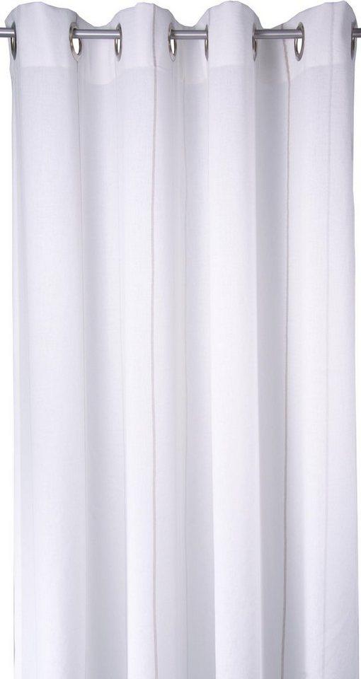Vorhang, Tom Tailor, »Homelike« (1 Stück) in beige