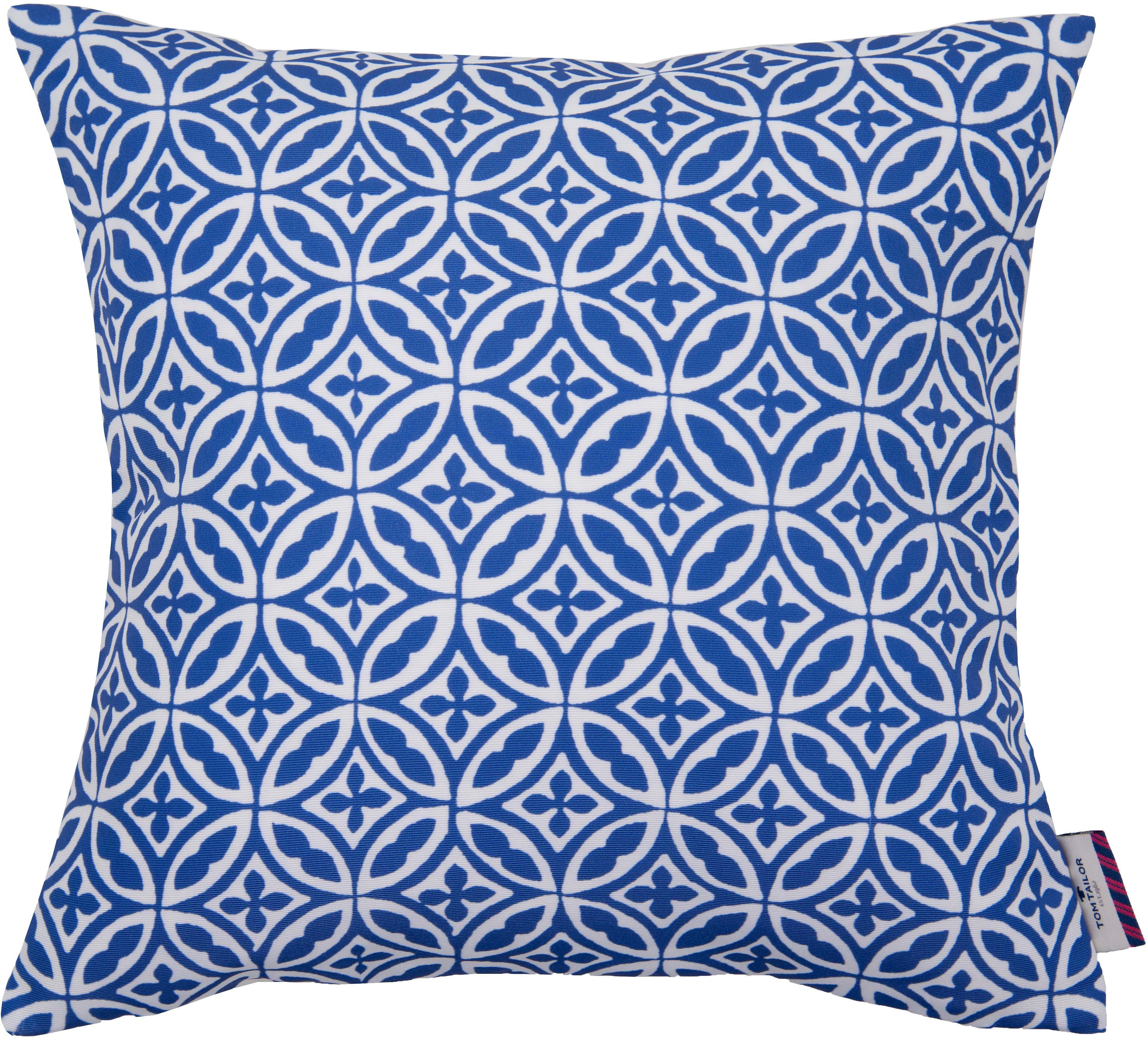 Kissenhüllen, Tom Tailor, »Blue Ornaments« (1 Stück)
