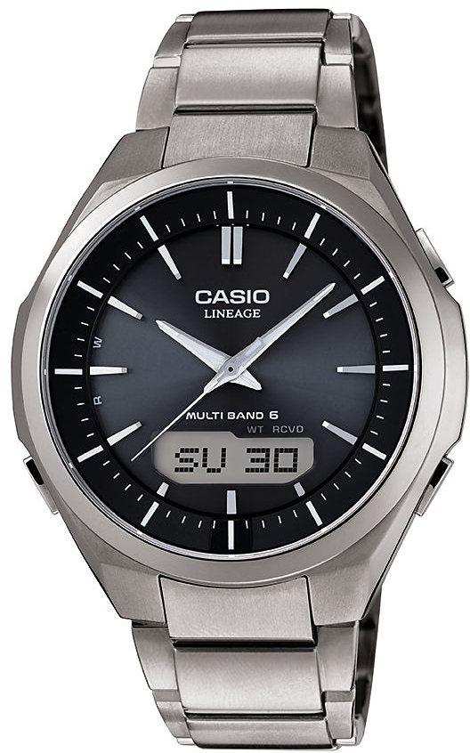 Casio Funk Funkchronograph »LCW-M500TD-1AER« in silberfarben