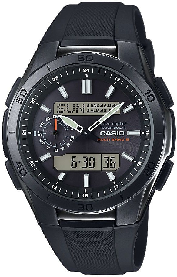 Casio Funk Funkchronograph »WVA-M650B-1AER« in schwarz