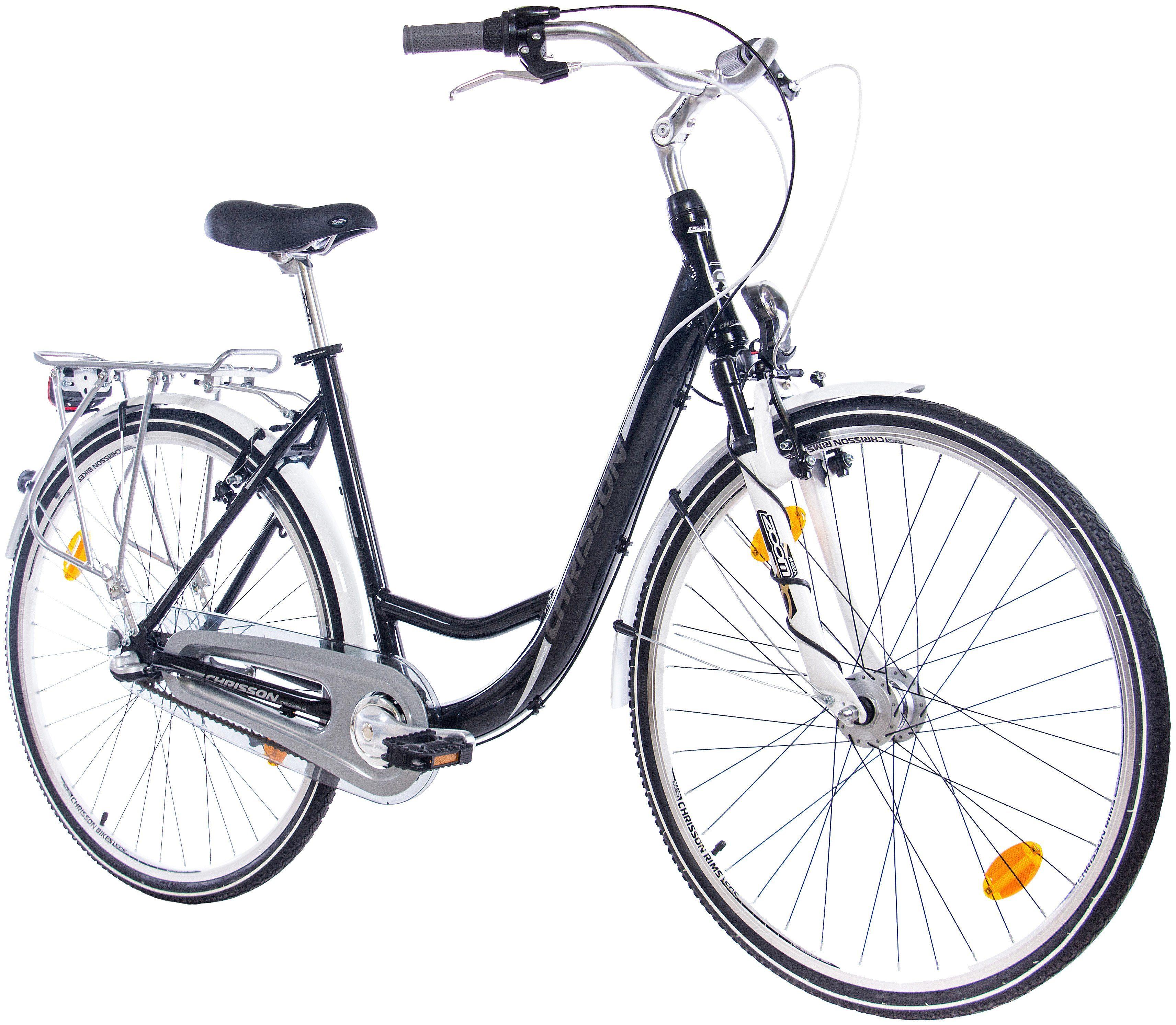 Citybike (Damen) »RELAXIA 2.0 schwarz, 71,12 cm (28 Zoll)«