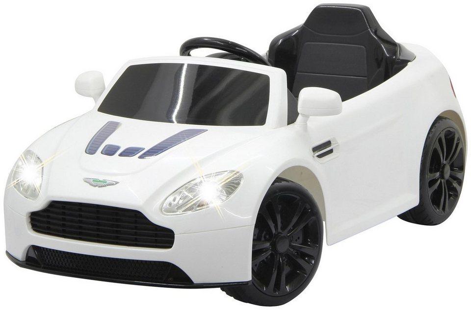 JAMARA KIDS Elektroauto »Ride-on Aston Martin Vantage«, weiß, inkl. Fernsteuerung in weiß