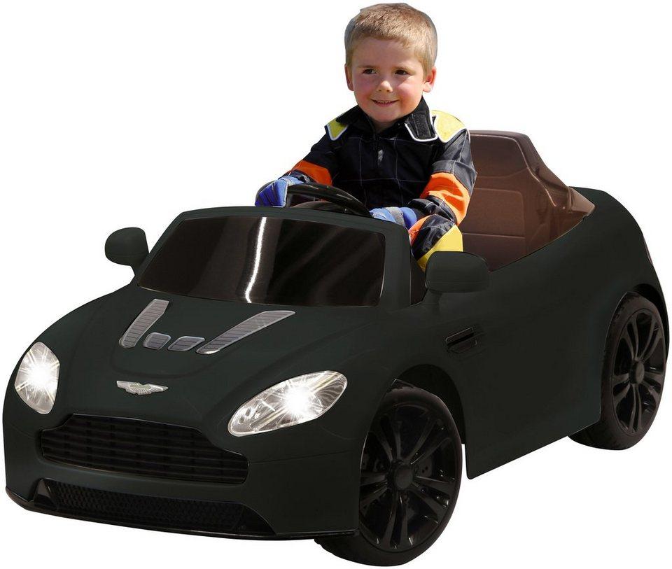 Elektro Kinderauto »ARide-on Aston Martin Vantage« 2,4 GHz, schwarz in schwarz