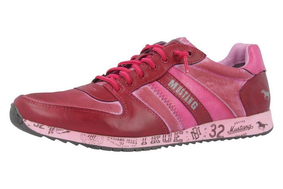 Mustang Sneaker in Pink