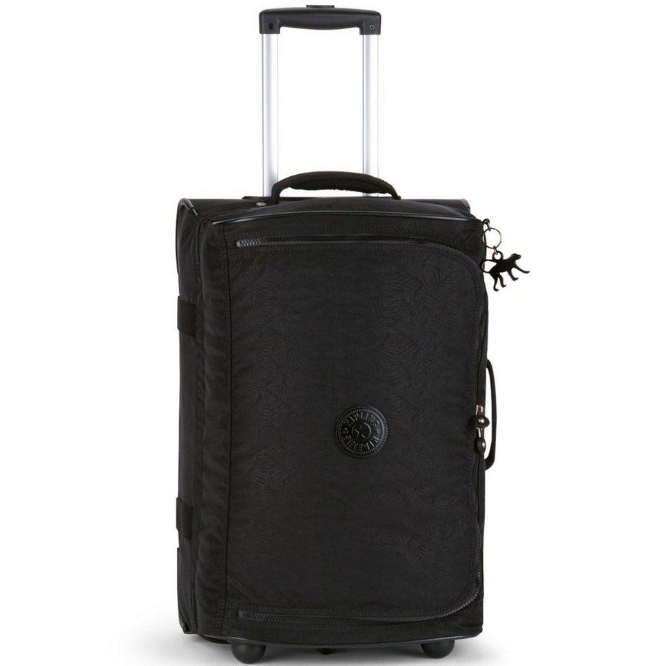 Kipling Basic Plus Travel Teagan BP S 2-Rollen Reisetasche 54 cm in black leaf