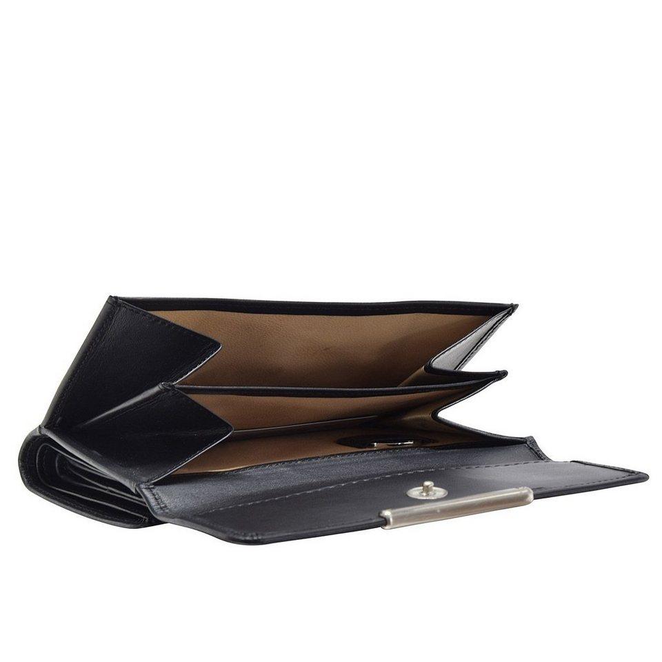 Esquire Esquire Helena Geldbörse Leder 14 cm in schwarz