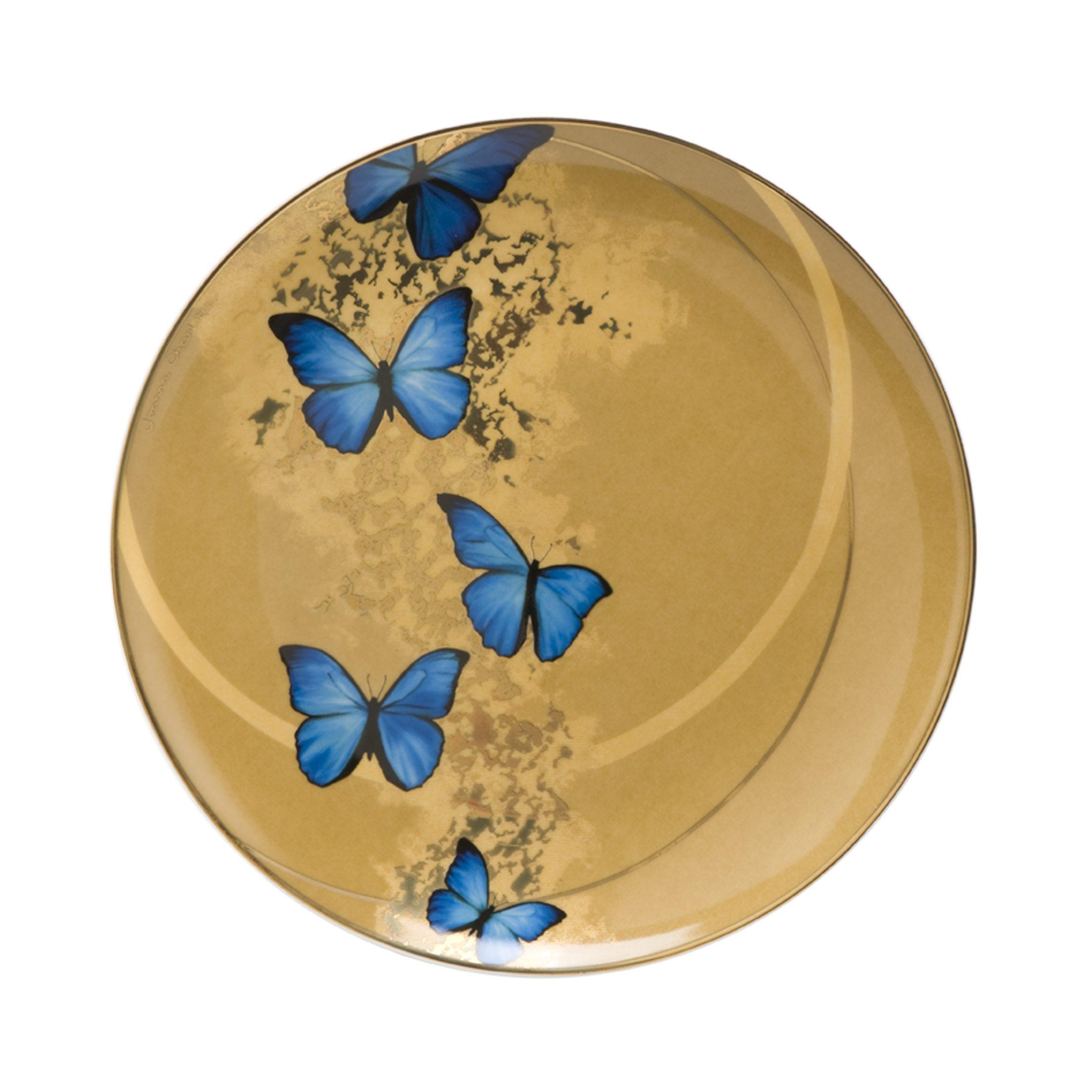Goebel Blue Butterflies - Frühstücksteller »Artis Orbis«