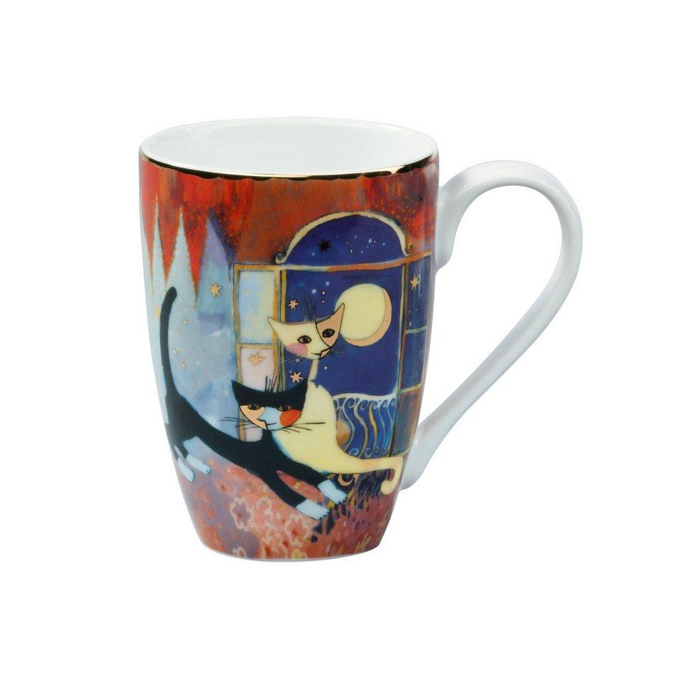 Goebel Amici della luna Kaffeebecher »Rosina Wachtmeister« in Bunt