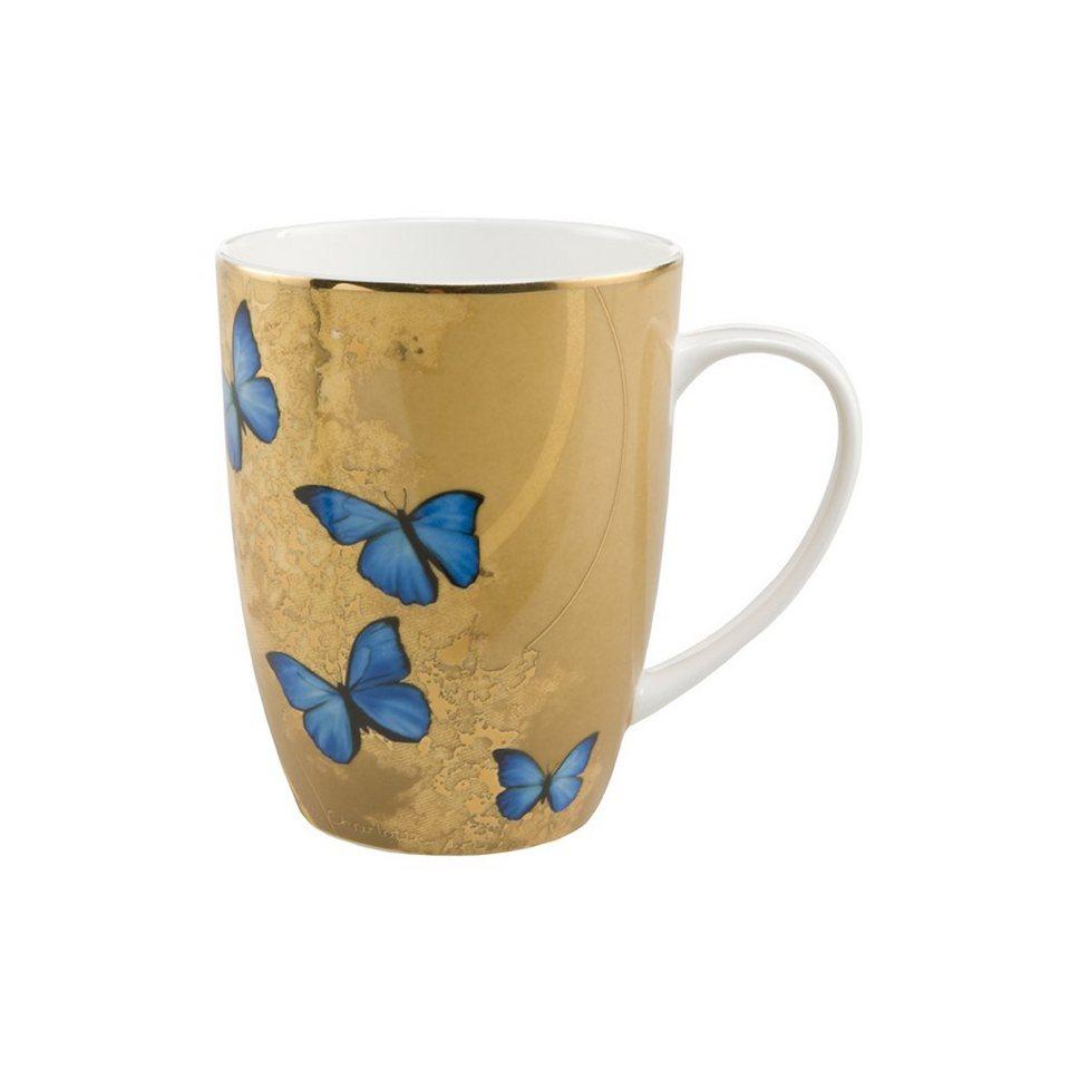 Goebel Blue Butterflies - Künstlerbecher »Artis Orbis« in Bunt