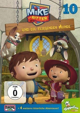 DVD »Mike, der Ritter... und die fliegenden Hunde«