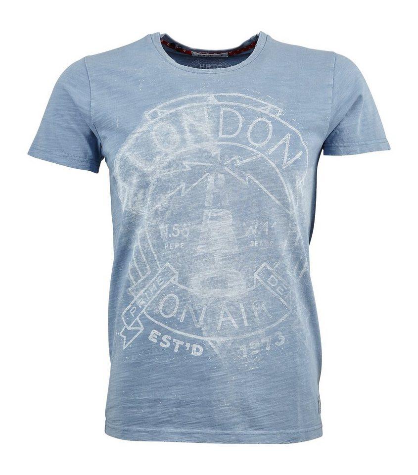 Pepe Jeans T-Shirt »LEAR« in blau