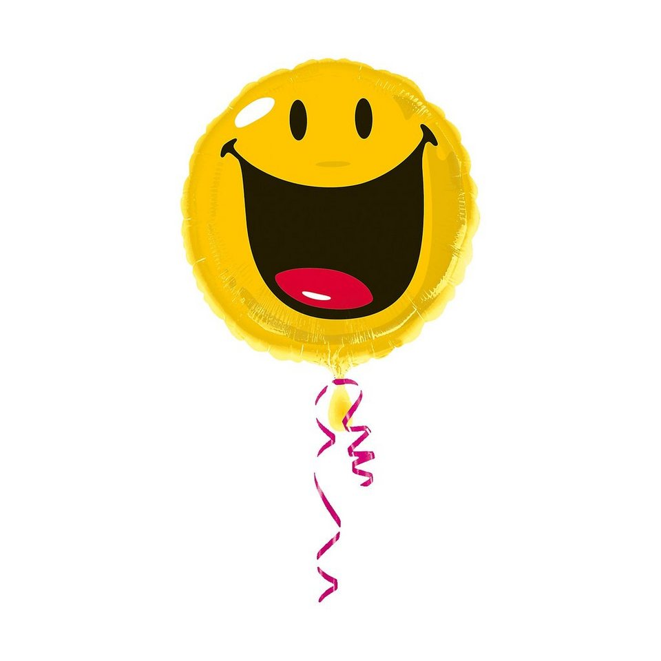 Amscan Folienballon Smiley