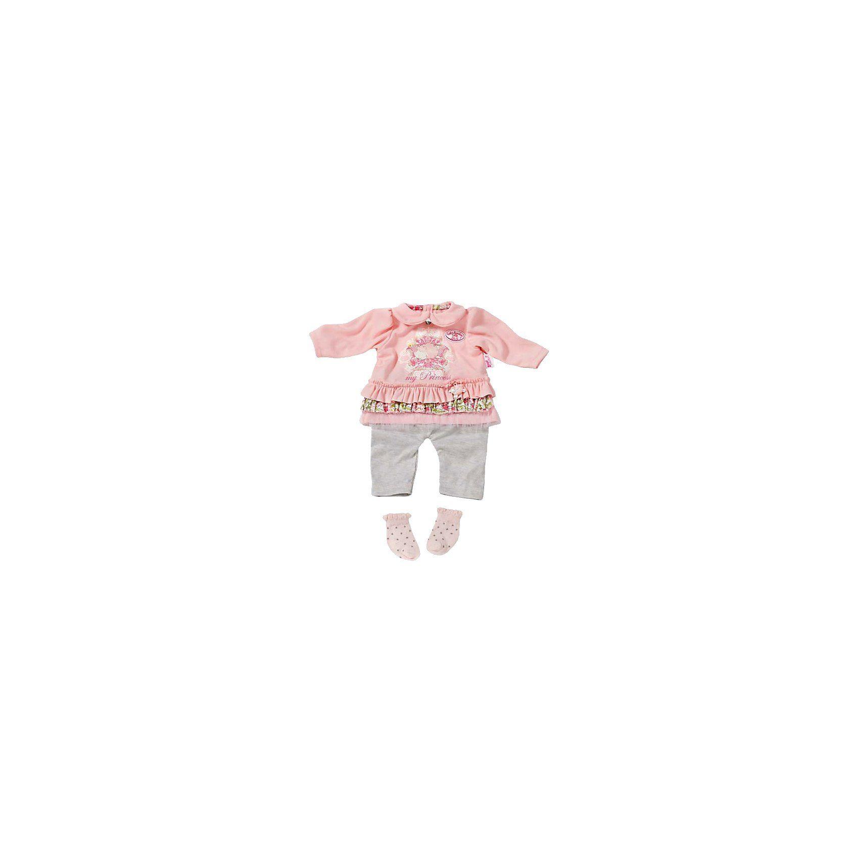 Zapf Creation Baby Annabell® Kleidung mit Socken, 46 cm