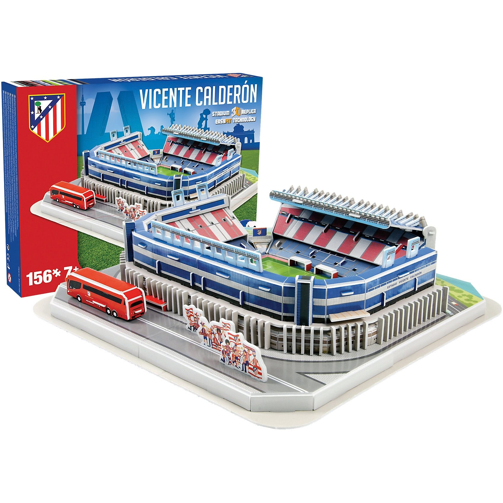 Giochi Preziosi 3D Stadion-Puzzle Vicente Calderon Madrid 156 Teile