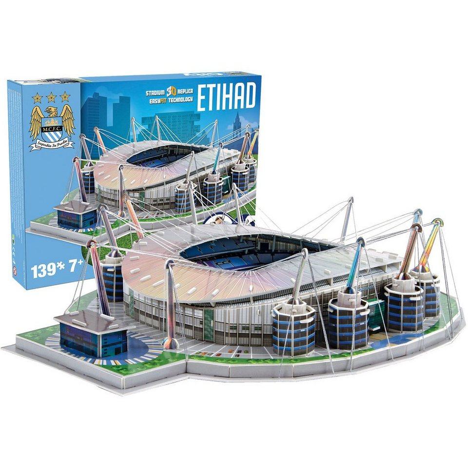 Giochi Preziosi 3D Stadion-Puzzle Etihad Stadium Manchester City 139 Teile