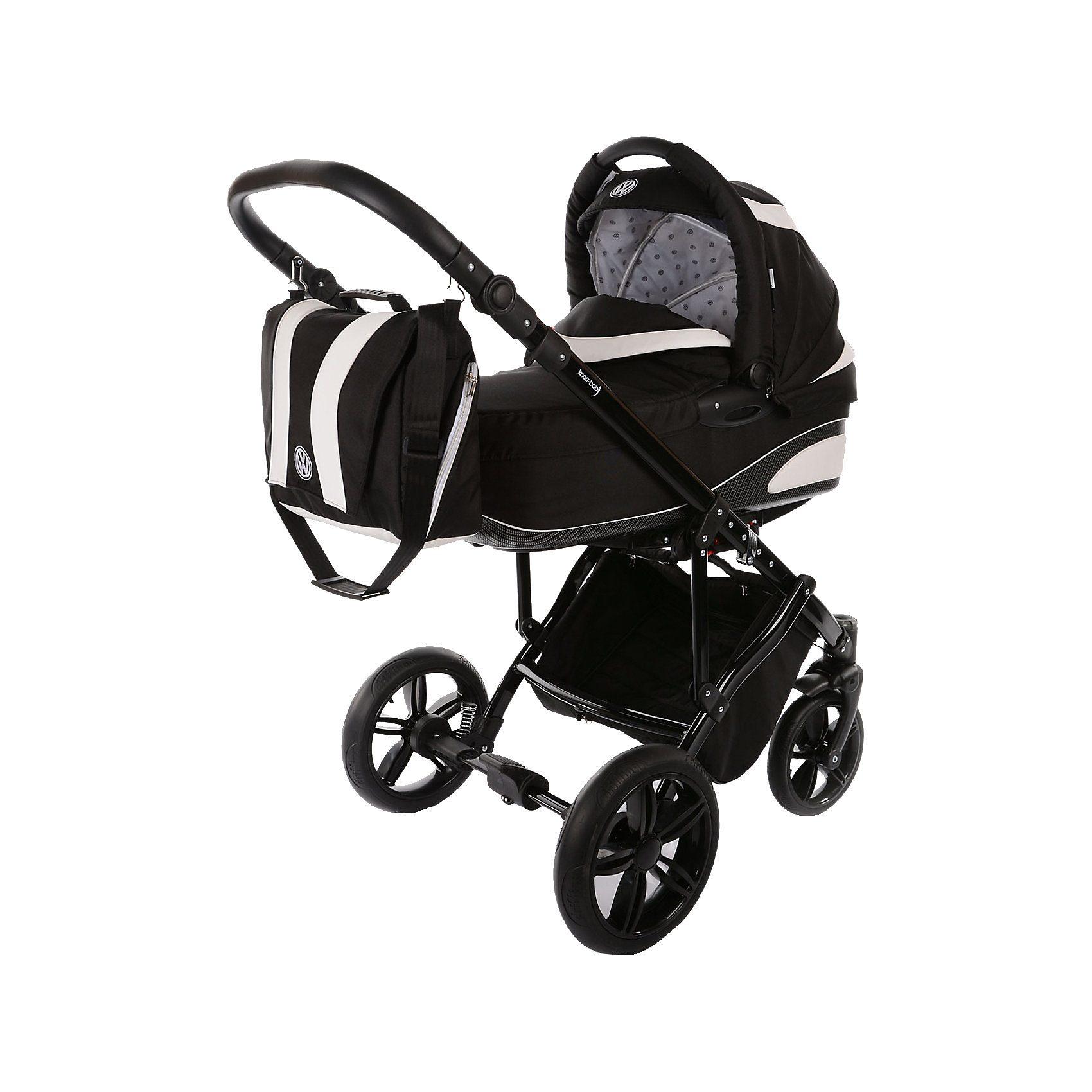 knorr-baby Kombi Kinderwagen Volkswagen Carbon, schwarz