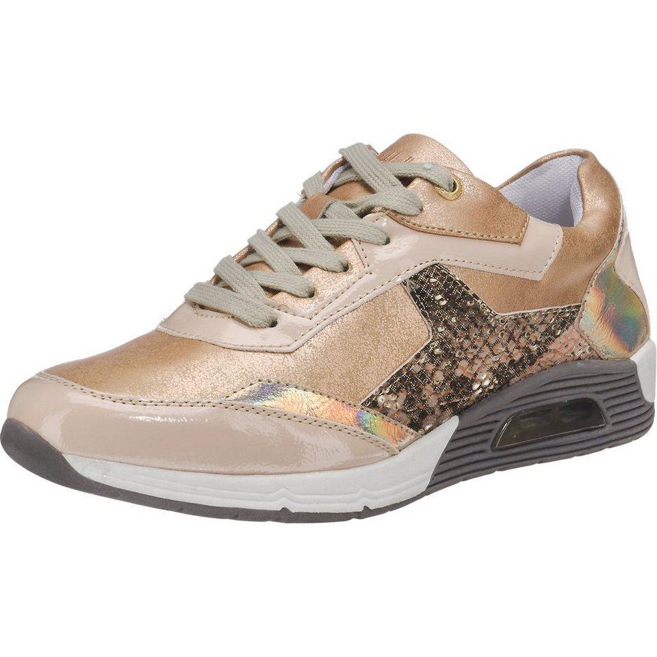 BULLBOXER Sneakers in beige-kombi