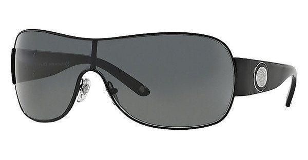 Versace Damen Sonnenbrille » VE2101« in 100987 - schwarz/grau
