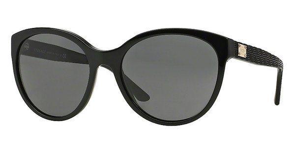 Versace Damen Sonnenbrille » VE4282« in GB1/87 - schwarz/grau