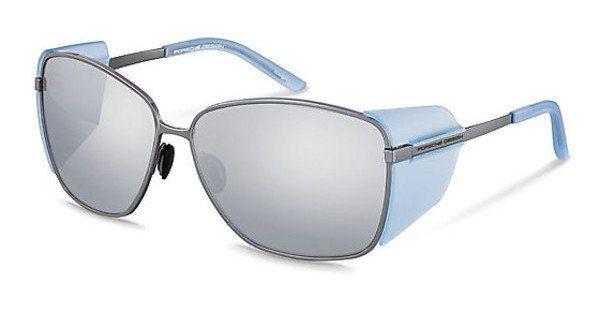 Porsche Design Damen Sonnenbrille » P8599« in B - weiß/silber