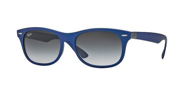 RAY-BAN Sonnenbrille » RB4207« in 60158G - blau/lila