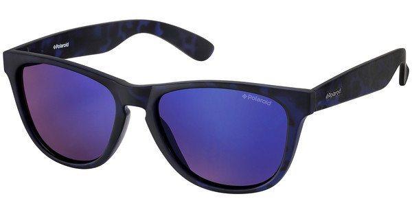 Polaroid Herren Sonnenbrille » P8443« in FLL/JY - blau/ blau