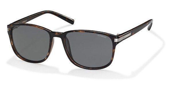 Polaroid Herren Sonnenbrille » PLD 2020/S« in PWX/Y2 - braun/grau