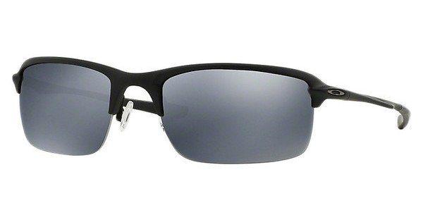 Oakley Herren Sonnenbrille »WIRETAP OO4071« in 407105 - schwarz/schwarz