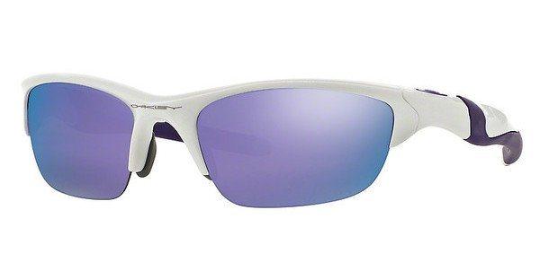 Oakley Herren Sonnenbrille »HALF JACKET 2.0 OO9144« in 914408 - weiß/blau