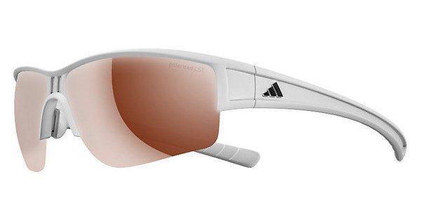 Adidas Performance Sonnenbrille »Evil Cross Halfrim L A410« in 6063 - weiß/braun