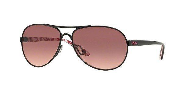 Oakley Damen Sonnenbrille »FEEDBACK OO4079« in 407913 - schwarz/ braun