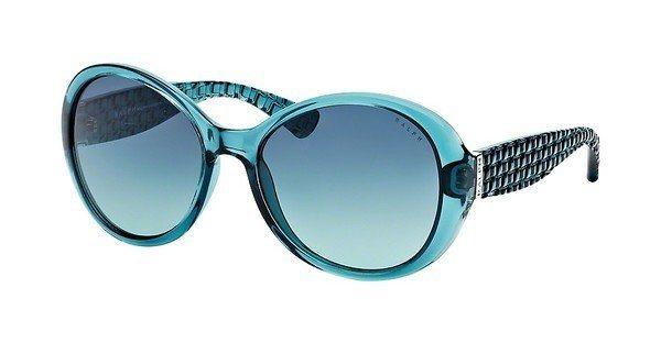 Ralph Damen Sonnenbrille » RA5175« in 609/4S - blau/ grün