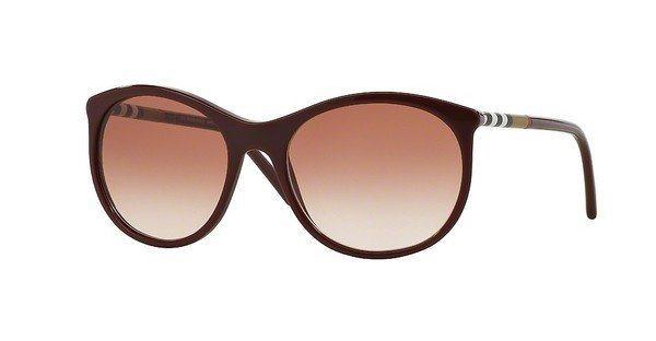 Burberry Damen Sonnenbrille » BE4145« in 340313 - rot/rot