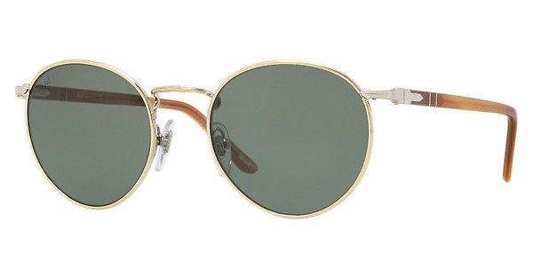 Persol Herren Sonnenbrille » PO2388S« in 101731 - gold/grün
