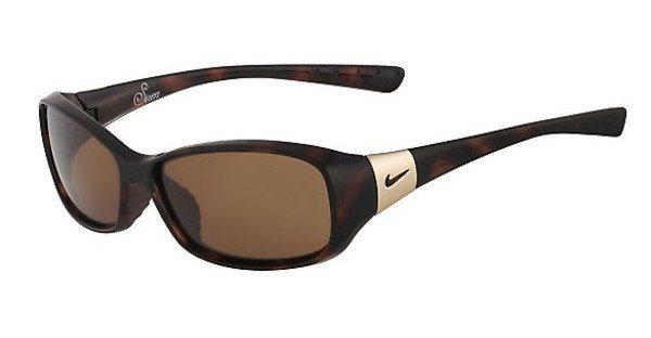 Nike Damen Sonnenbrille » SIREN EV0580« in 202 - havana