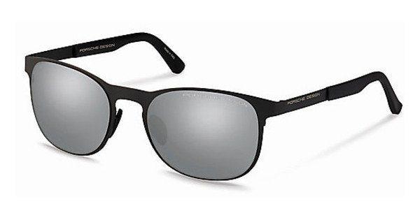 Porsche Design Herren Sonnenbrille » P8578« in E - schwarz/silber
