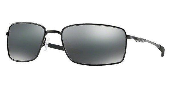 Oakley Herren Sonnenbrille »SQUARE WIRE OO4075« in 407501 - schwarz/schwarz