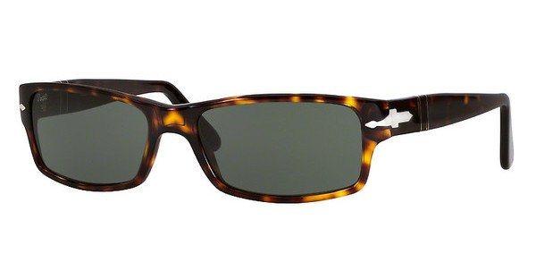 Persol Herren Sonnenbrille »PO2747S (57) PO2747S« in 24/31 - braun/grün
