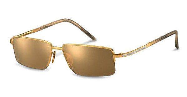 Porsche Design Sonnenbrille » P8499« in A - gold/ gold