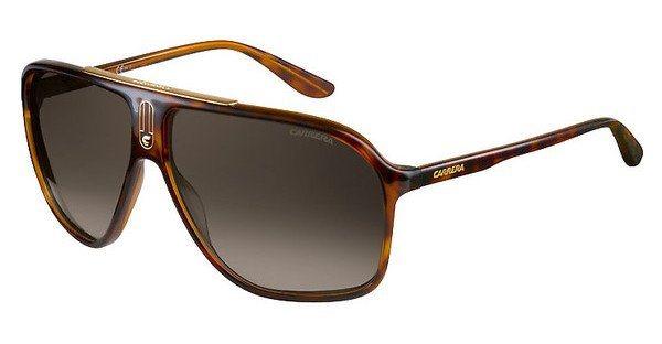 Carrera Herren Sonnenbrille » CARRERA 6016/S« in DWJ/HA - braun/braun